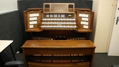 Órgão do Departamento de Música da Escola de comunicações e Artes. 2017/02/07 Foto: Marcos Santos/USP Imagens