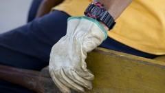 Detalhe da mão de um carregador de mercadorias do Ceagesp. Foto: Marcos Santos / USP Imagens