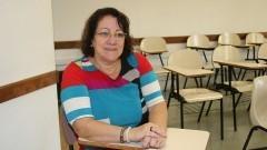 Detalhe da professora Maria Martha Costa Hübner do Departamento de Psicologia Experimental do Instituto de Psicologia (IP), que realiza pesquisas sobre autismo. Foto: Marcos Santos/USP Imagens
