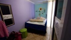 Interior de um apartamento do bairro dos Portais. O Grupo de Poupança viabilizou o acabamento das moradias. Foto: Marcos Santos/USP Imagens