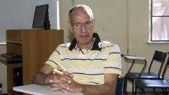 Paulo Roberto Navarrette. Participante das atividade de meditação da Faculdade de Saúde Pública. Foto: Marcos Santos/USP Imagens
