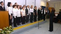 Apresentação do Coral USP, na comemoração dos 40 anos do Instituto de Psicologia da USP. Foto: Cecília Bastos/Jornal da USP