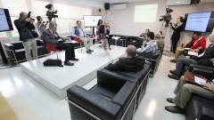 """Debate """"Processo Eleitoral da USP"""". Foto: Marcos Santos/USP Imagens"""