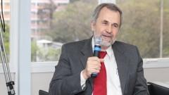 """Debate """"Processo Eleitoral da USP"""". Professor Luiz Nunes de Oliveira. Foto: Marcos Santos/USP Imagens"""