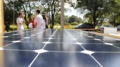 Projeto brasileiro de habitação de energia zero. Foto: Marcos Santos/USP Imagens