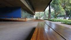 Fachada da Faculdade de Arquitetura e Urbanismo. Foto: Marcos Santos/USP Imagens