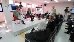 Entrevistados os professores Eugenio Bucci, André Singer e Matheus Preis do Movimento Passe Livre. Foto: Marcos Santos