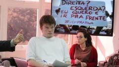 Matheus Nordon Preis integrante da segunda geração do Movimento Passe Livre (MPL). Foto: Marcos Santos/USP Imagens