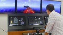 Simulador OffShore. Foto: Marcos Santos/USP Imagens