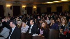 Platéia na palestra do professor Celso Lafer na Faculdade de Direito da USP. Foto: Francisco Emolo/Jornal da USP.
