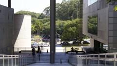 Vista da Biblioteca Brasiliana. Foto: Marcos Santos/USP Imagens