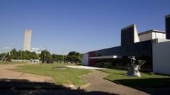 Vista do MAC e da Praça do Relógio. Foto: Marcos Santos/USP Imagens