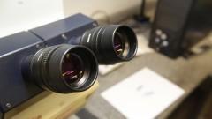 Microscópio do Departamento de Anatomia. Foto: Marcos Santos/USP Imagens