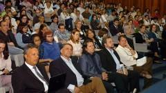 "Conferência do filósofo Pierre Lévy ""A Information Economy Metalanguage"" (IEML). Foto: Cecília Bastos/Jornal da USP"
