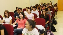 Sala de Aula da Faculdade de Odontologia. Foto:Marcos Santos/USP imagens