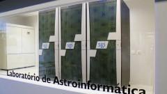 Laboratório de Astroinformática do Departamento de Astronomia. Foto: Marcos Santos/USP Imagens