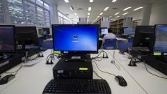 Computadores na Nova Biblioteca da Faculdade de Educação. Foto: Marcos Santos/USP Imagens
