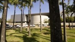 Fachada da Biblioteca Brasiliana Guita e José Mindlin. Foto: Marcos Santos/USP Imagens