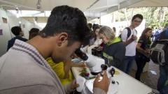 Feira de Profissões realizada no Parque Cientec. Foto: Marcos Santos/USP Imagens