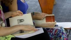 sarau das mulheres livres. Foto: Marcos Santos/USP Imagens