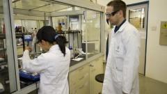 Centro de Pesquisas de nanomateriais em catálise, plasmônica e geração de energia. Foto: Marcos Santos/USP Imagens