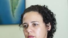 Pesquisadora Prolan - Programa de Pós-Graduação em Integração da América, Latina Adriana de Carvalho. Foto: Marcos Santos/USP Imagens