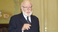 Antonio F. Costella. Fundador e Diretor Geral do Museu da Xilogravura. Foto: Marcos Santos/USP Imagens