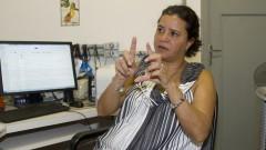 Professora Renata Guimarães Moreira do Departamento de Fisiologia. Foto: Marcos Santos/USP Imagens