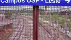 Passarela da Estação USP Leste. Foto: Denis Pacheco/USP Imagens