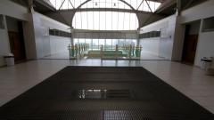 Vista interna de prédio da EACH. Foto: Marcos Santos/USP Imagens