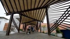Cena do campus da EACH. Foto: Marcos Santos/USP Imagens