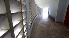 Vista do corredor do Bloco Didático. Foto: Marcos Santos/USP Imagens