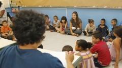 Experiências com a arte no Ensino Fundamental. Foto: Marcos Santos/USP Imagens