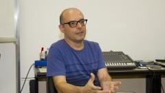 Professor Fernando Iazzetta, do Laboratório de Acústica Musical e Informática (LAMI) do Departamento de Música da Escola de Comunicações e Artes (ECA). Foto: Marcos Santos/USP Imagens