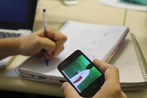 Educação à distância. Foto:Marcos Santos/USP Imagens