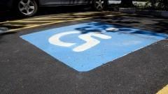 Vaga para deficientes. Foto: Marcos Santos/USP Imagens
