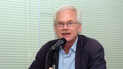 Prof. Paul Van Lindert da Universidade de Utrecht na Holanda. Foto: Francisco Emolo/Jornal da USP
