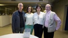 """Roberta Astolfi uma das organizadoras do livro: """"Tortura na Era dos Direitos Humanos"""" entre alguns dos escritores do livro na EDUSP . Foto: Marcos Santos/USP Imagens"""
