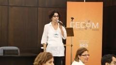 Luciana Joia de Lima da Comissão Organizadora. Foto: Marcos Santos/USP Imagens