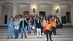 Participantes do GECOM. Foto: Marcos Santos/USP Imagens