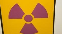 Símbolo internacional da radiação. Foto: Marcos Santos/USP Imagens