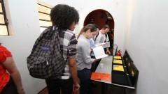 Gecom debate a Identidade Visual da USP em Pirassununga. Foto: Marcos Santos/USP Imagens