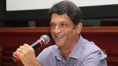 Prefeito de Pirassununga Professor Marcelo Machado de Luca de Oliveira Ribeiro. Foto: Marcos Santos/USP Imagens