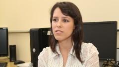 Tatiane Guimarães Pedroso de Oliveira, pesquisadora do Laboratório de Saúde Mental Coletiva da Faculdade de Saúde Pública (FSP). Foto: Marcos Santos/USP Imagens