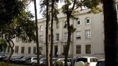 Vista geral, em meio as árvores, do prédio da Faculdade de Saúde Pública (FSP). Foto: Marcos Santos / USP Imagens