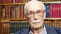 Professor Antônio Cândido estudioso da literatura brasileira e estrangeira. Foto: Marcos Santos/USP Imagens