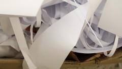 Papel para reciclagem. Foto: Marcos Santos/USP Imagens