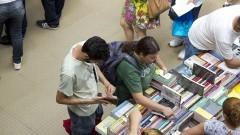 A Festa do Livro oferece descontos mínimos de 50%. Foto: Marcos Santos/USP Imagens