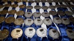 Medalhas da FEBRACE. Foto: Marcos Santos/USP Imagens