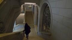Escada da Faculdade de Direito. Foto: Marcos Santos/USP Imagens